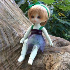 Grape Vine Puki Puki Handmade Fairy Dress by EddieNereid on Etsy