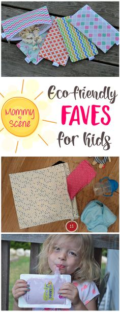 It's easy to make life with kids a little more Eco-friendly with these great summer kids' faves!
