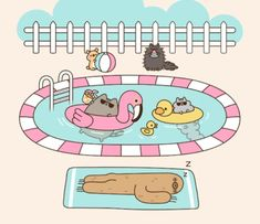 Comics Archives - Page 11 of 34 - Pusheen Chat Pusheen, Pusheen Love, Pusheen Stuff, Chat Kawaii, Kawaii Cat, Kawaii Anime, Pusheen Stormy, Nyan Cat, Kawaii Drawings