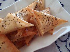 Receita Entrada : Entrada de queijo de cabra, mel e tomilho de Mena Ferreira