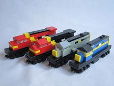 MicroBricks: trains