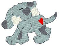 Bunnycup Embroidery | Free Machine Embroidery Designs | Playful Puppies
