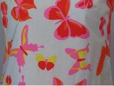 Detail of long sleeveless VG dress.  From ebay.