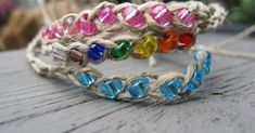 Have you every heard of a wish bracelet? Well here are a few: The idea behind a wish bracelet is fun. You take the bracelet and ti...