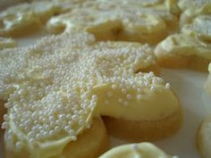 White Velvet Sugar Cookies...love sugar cookies
