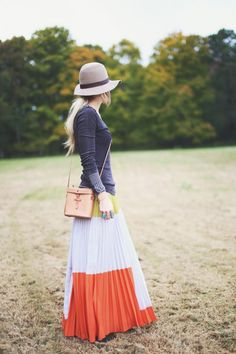 Long and Maxi Skirts Street Style (5)