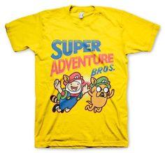 Super Adventure Bros Shirt