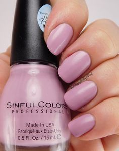 Sinful Colors Glazy Sunday | Be Happy And Buy Polish https://behappyandbuypolish.com/2016/04/05/sinfulcolors-porcelain-matte-nail-polish-collection/