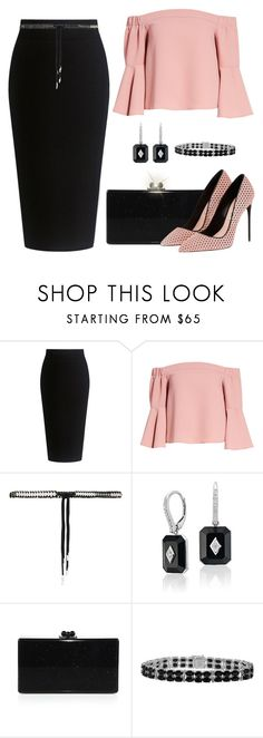 """""""Untitled #1477"""" by gallant81 ❤ liked on Polyvore featuring Theory, Topshop, Dsquared2 and Edie Parker"""