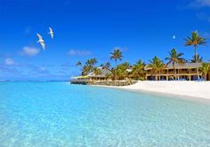 A vacation at Sanctuary Rarotonga hotel Cook Islands with airfare from Los Angeles. Book your Sanctuary Rarotonga Cook Islands package now. Cook Islands Accommodation, Cook Islands Resorts, Rarotonga Cook Islands, Fiji Islands, Summer Facebook Cover Photos, Famous Beaches, Air New Zealand, Paradise On Earth, Beaches In The World