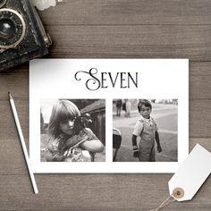 Photo de numéros de Table / 5 x 7 / mariage par NostalgicImprints