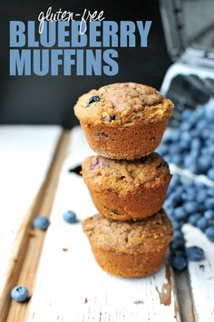 GF = Gluten Free - Blueberry Muffins, excellent options since so many are no finding they have wheat allergies