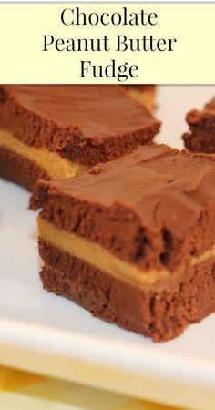 Chocolate Peanut Butter Fudge {Refined Sugar Free, Real Food, Healthy Fudge, Fudge Recipes}