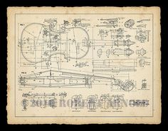 Color Print of a Century Violin Maker's Plans 11 por SirPrys Violin Art, Violin Music, Music Love, Music Is Life, Violin Makers, Technical Drawing, Music Education, Classical Music, 19th Century
