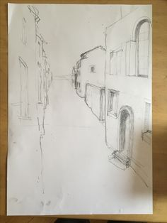 Studie Venezia, nach Fotovorlage