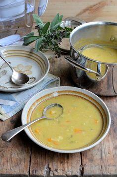 5:2 Diet Curried Autumn Allotment Soup: 90 Calories a Bowl