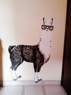 llama sticker by http://@Rafael Cordeiro Cordeiro Liminha