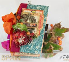 Tati, 2017 Autumn Book, Nature Sketchbook pattern & solid papers, Product by Graphic 45, Photo 3 .jpg