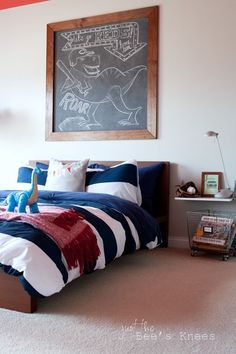 A roundup of lots of great boys rooms designs to help inspire your own boys room. See it on { lilluna.com }!