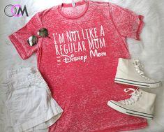I'm Not Like a Regular Mom I'm a Disney Mom Shirt, Disney mom Shirt, Disney Shirt, Disney Vacation shirts, Family Vacaction Shirts, Family by 1OneCraftyMomma on Etsy