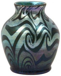 Tiffany King Tut Cabinet Vase