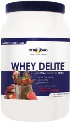 Infinite Labs Whey Delite Review – Chocolate Covered Strawbwerry