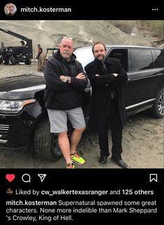 Picture Watch, Mark Sheppard, Season 12, Winchester Brothers, Supernatural, Badass, Interview, Actors, Instagram Posts