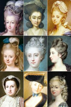 18th Century Woman's Hairstyles 05