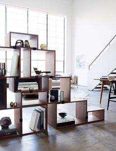 Muuto Stacked Shelving in ash.