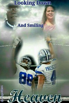 God bless them both! Cowboys 4, Dallas Cowboys Football, Football Team, Football Quotes, Dez Bryant, How Bout Them Cowboys, Football Design, Texas Rangers, Dak Prescott