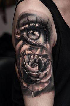 Un tattoo réalisé by Kory Angarita – Frisuren 2019 Side Tattoos, Foot Tattoos, Finger Tattoos, Body Art Tattoos, Tattoos For Guys, Sleeve Tattoos, Eye Tattoo On Arm, Heaven Tattoos, African Tattoo
