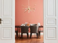 Coral Living, the color Pantone 2019 - Joli Place - Bathroom 02 Interior Paint Colors For Living Room, Bedroom Wall Colors, Room Interior, Decoration Chic, Coral Walls, Coral Design, Live Coral, Interior Design Inspiration, House Colors