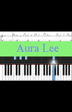 Learn how to play easy song online for free - Aura Lee (Love Me Tender), comes with free sheet music, and browse more songs. Free Piano Lessons, Piano Lessons For Beginners, Easy Piano Songs, Free Sheet Music, Twinkle Twinkle Little Star, Falling Down, Play, Learning, Easy Songs For Piano