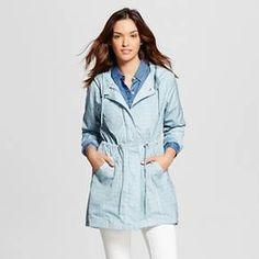 Women's Rain Anorak Jacket - Yellow - M - Merona™ : Target