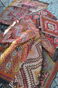 These lovely handwoven kilims are in the website just head to easternboho.com