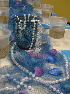 "Photo 11 of 12: Mermaids / Under the Sea / Birthday ""Lily's Mermaid Soiree"" 