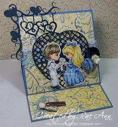 Digital stamps Childs stamp Scrapbooking printable, Coloring page, Digi stamp, Printable Downloads, Line art. Boy & Girl. Love