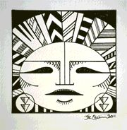 Aztek series of drawings.