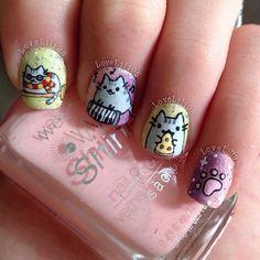 Pusheen Nails lovelili95