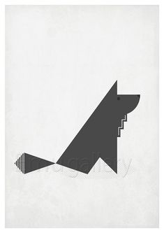Hey, I found this really awesome Etsy listing at http://www.etsy.com/listing/166302346/retro-poster-in-scandinavian-style-wolf