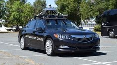 Honda demoed its autonomous vehicle technology at an abandoned weapons station in California.