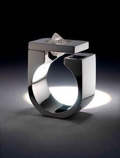 Tip of the Iceberg ring by Niki Kavakonis