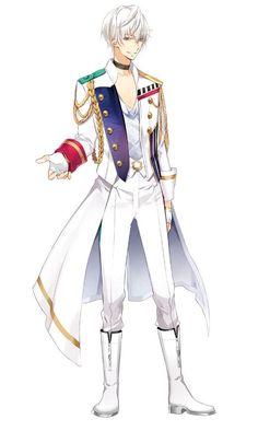 Zeno: C'était vraiment un pari je pense... Même Lewis était habillé dans ce style.  Megami: Ça leurs va bien en plus.