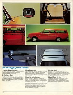 Volvo 240-260 Accessories Brochure (1979) - Turbobricks Forums