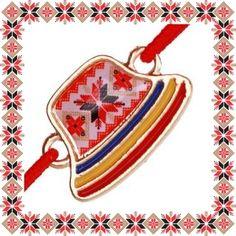 Martisor Bratara Metal Clop Motive Traditionale Coin Purse, Costume, Traditional, Purses, Metal, Design, Handbags, Costumes