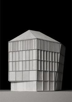 ETH Zürich - Prof. A. Caruso :: Archive :: Student Projects maquette ritmiek compositie verhoudingen gevel