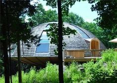 This Incredible Dome Home Can Spin a Full 360°