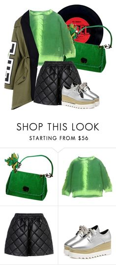 """""""Untitled #50"""" by pinguo187 ❤ liked on Polyvore featuring Lanvin, Roseanna, STELLA McCARTNEY and Moschino"""