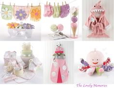 Pink Baby Shower gift Ideas  by The Lovely Memories