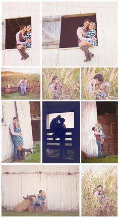 Farm engagement photos- Memories Captured by Brenda